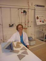 Margarita Calafell y su nuevo material