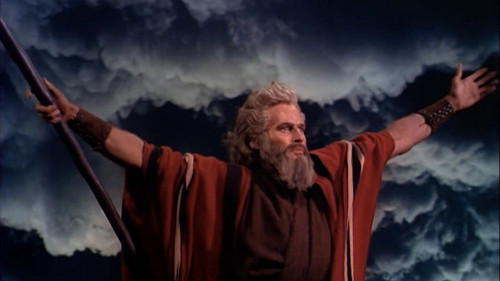 Charlton Heston en Los Diez Mandamientos