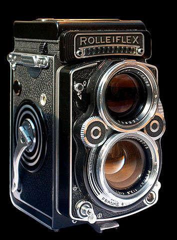Cámara Rolleiflex