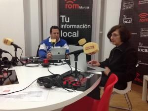 Antonio Rentero y Angeles Portillo en romMurcia