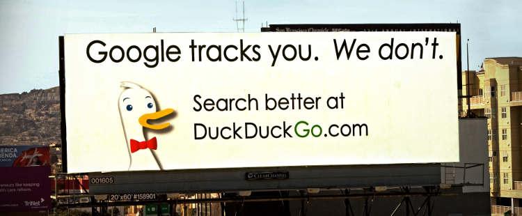 Valla de DuckDuckGo