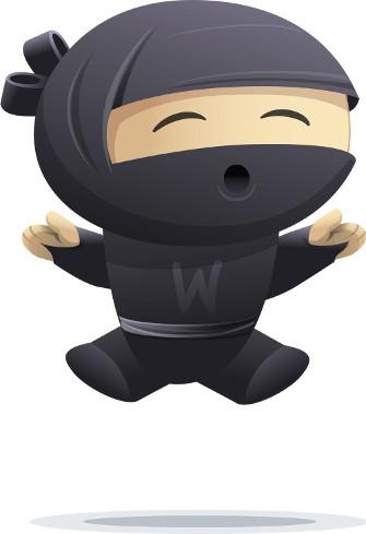Hiro, la mascota de Woo Commerce