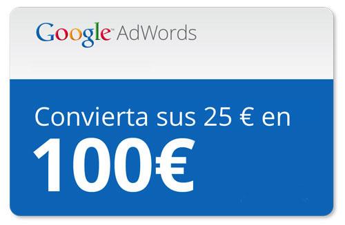Cupón AdWords 75€