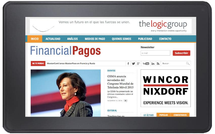 Web de FinancialPagos